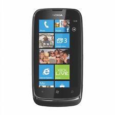 Téléphones mobiles noirs, sur débloqué d'usine, 8 Go