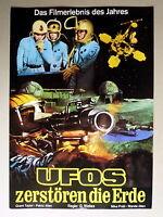 UFOS ZERSTÖREN DIE ERDE * SCI-FI - Werberatschlag - Campaign Book  70er