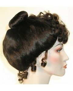 1890S 19TH GIBSON GIRL COSTUME WIG UPSWEEP VICTORIAN GIBSON CINDERELLA LADY WIG