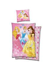 Disney Princess Wende Bettwäsche Biber Baumwolle 135x200 Prinzessin NEU OVP 5217