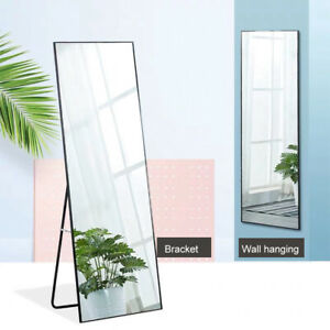 Full Length Mirror Floor Mirror Hanging Standing or Leaning Wall-Mounted Mirror