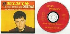 "ELVIS PRESLEY CD SINGLE ""IF EVERY DAY WAS LIKE CHRISTMAS"" 1994 BMG NETHERLANDS"