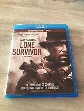 Lone Survivor (Blu Ray, Original, No Copy) 2 Disc Set Like New Mark Whalberg