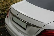 Painted Process Trunk Spoiler for Mercedes W213 OE Type Saloon E200 E300 2017+