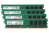 8 GB Crucial 4x 2 GB DDR2 2RX8 PC2-6400 800MHZ CL6 DIMM Desktop Memory RAM 2GB