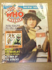 DOCTOR WHO #2 1979 OCT 24 BRITISH WEEKLY MONTHLY MAGAZINE DR WHO DALEK CYBERMEN