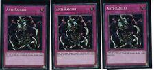 3 x Anti Raigeki LCKC-DE104, Secret Rare, Deutsch, Mint, Playset