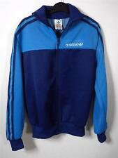 VINTAGE JUNIOR ORIGINAL FITTED 70s 80s ADIDAS TRACKSUIT TOP JACKET sports