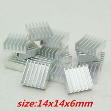 50pcs Aluminum heatsink 14x14x6mm for Chip  GPU VGA RAM LED IC radiator cooling