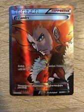 Pokemon Card Lysandre Full Art NM/LP Flashfire Set 104/106 XY Ultra Rare Trainer