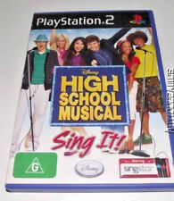 High School Musical Sing It Singstar PS2 PAL  *Complete*