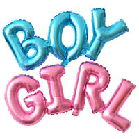 1Pc Large Baby Shower Balloons Boy or Girl Foil Gender Reveal Party Decorations