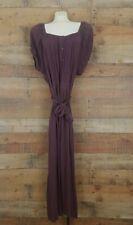 Roaman's Womens Purple Lavender Peasant Dress Size 20W BOHO Prairie Skirt New