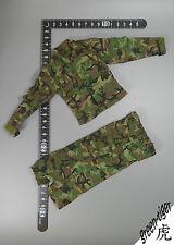 A151 1:6 Scale ace Military action figure parts - Woodland BDU Set