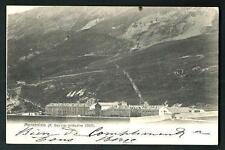 Moncenisio ( Torino ) : R. Ospizio - cartolina viaggiata nel 1903 per Parigi