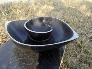 Fruit Bowl Sculpture, Shona sculpture, Stone Sculpture, Springstone, African Art