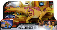 Jurassic World ~ SOUND & STRIKE PARASAUROLOPHUS ACTION FIGURE ~ Camp Cretaceous