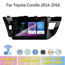 """9"""" Android 9.1 Car DVD GPS Radio stereo For Toyota Corolla 2014 2015 2016"""