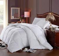 100%Cotton Hungarian Down Alternative Comforter Baffle Box Winter Duvet Insert