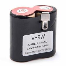Batteria 3000mAh 2.4V Li-Ion per Black & Decker Classic HC400, 520102