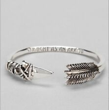 Han Cholo Straight As An Arrow Bracelet Bangle Cuff With Pouch Retails $65.00