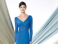 Montage by Mon Cheri 213976-Color:Periwinkle-Size 12-Mother of the Bride-Reg$478