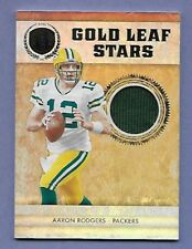 AARON RODGERS - GREEN BAY PACKERS - GAME USED JERSEY - SERIAL #'d 04/49 - NICE!