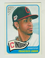 2019 Topps Gallery HERITAGE #HT-10 FRANCISCO LINDOR Cleveland Indians