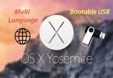 ✅Mac OS X Yosemite 10.10 - Bootable USB (Recovery,Upgrade,Fresh Install)