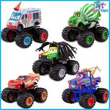Disney CARS Monster Truck Mater Deluxe 5 piece Figure Play Set cake topper