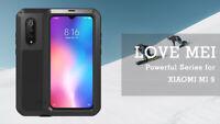 LOVE MEI Metall Gehäuse Gorilla Glas Schutz Case Cover F Xiaomi Mi 9 Mix 2 Max 3