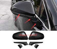 6PCS Carbon Fiber Rearview Door Side Mirror Cover For Lexus NX200 300 2015-2019