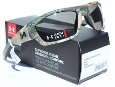 UNDER ARMOUR Force Sunglasses Realtree Xtra Camo/Gray Hunting NEW 8630086-860100