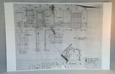 "Dark Shadows Blueprint 11""X17"" GLOSSY PRINT- THE PLAYROOM  -BONUS GIFT"