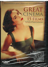 Hollywood's Greatest Cinema 15 Movies4 DVDs NEWSEALED Best Actors of Century
