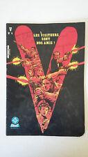 DC COMICS AREDIT 1985 - V - LES VISITEURS SONT NOS AMIS ! - MENSUEL N°4