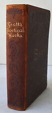 The Complete Poetical Works of Sir Walter Scott 1894 Poetry Sketch Dole Leather