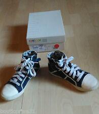 Chaussures  lacet / tennis / baskets montantes enfant - Geox- bleu / blanc- T 34