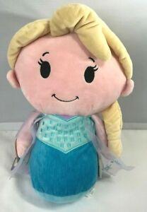 Hallmark Itty Bittys Biggys Disney Frozen Movie Elsa Doll stuffed animal plush