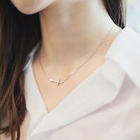 Elli Halskette 925 Sterling Silber Kreuz Damen