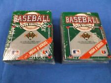 (LOT 2) Upper Deck 1990 High Series Baseball Factory Set 100  PLUS 17 FREE CARDS
