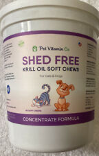 New listing Pet Vitamin Co Antarctic Krill Oil Shed-Free Soft Chews for Dogs ✔ Rich in