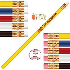 Promotional USA Made #2 Pencil Printed With Your Logo /School Name /Text 150 QTY