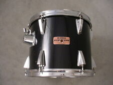 "80's YAMAHA STAGE SERIES 12"" BLACK  TOM DRUM, JAPAN"
