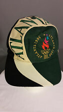 Vintage Eastport SnapBack Embroidered Hat 1996 Atlanta Olympic Big Logo Cap