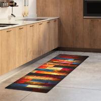 Non-Slip Kitchen Floor Mat Washable Machine Soft Rug Door Large Runner Carpet /
