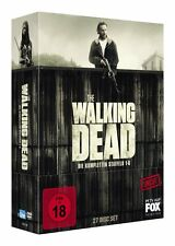 27 DVDs * THE WALKING DEAD BOX - SEASON / STAFFEL 1 - 6 uncut # NEU OVP WVG