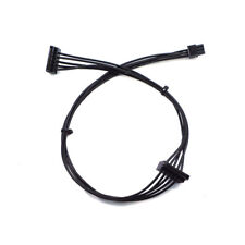 10mm Mini 6Pin to 2 SATA Power supply Cable Lead HDD SSD for DELL 45cm
