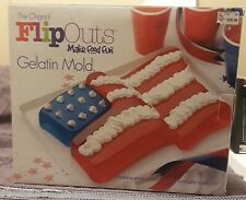 Flip Outs gelatin mold-flag new in box