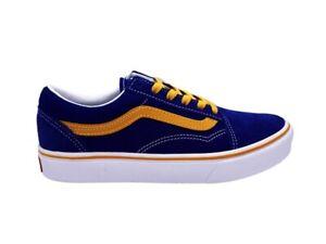 VANS Comfycush Alte Skool Zapatillas Azul Amarillo Blanco UHAWI5